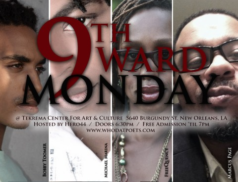 9th Ward Mondays at Tekrema Center