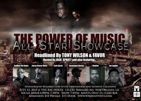 Tony Wilson Power Of Music