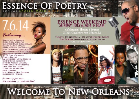 Essence Poetry Flier